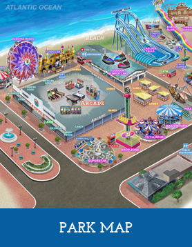 Palace Playland Rides And Amusement For The Young The Thrill Seekers - Map-of-amusement-parks-in-the-us